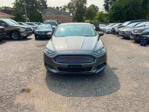 2014 Ford Fusion for sale at All Starz Auto Center Inc in Redford MI