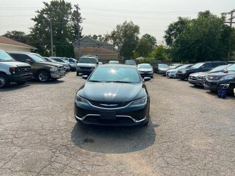 2015 Chrysler 200 for sale at All Starz Auto Center Inc in Redford MI