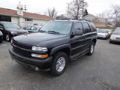 2005 Chevrolet Tahoe for sale in Redford, MI