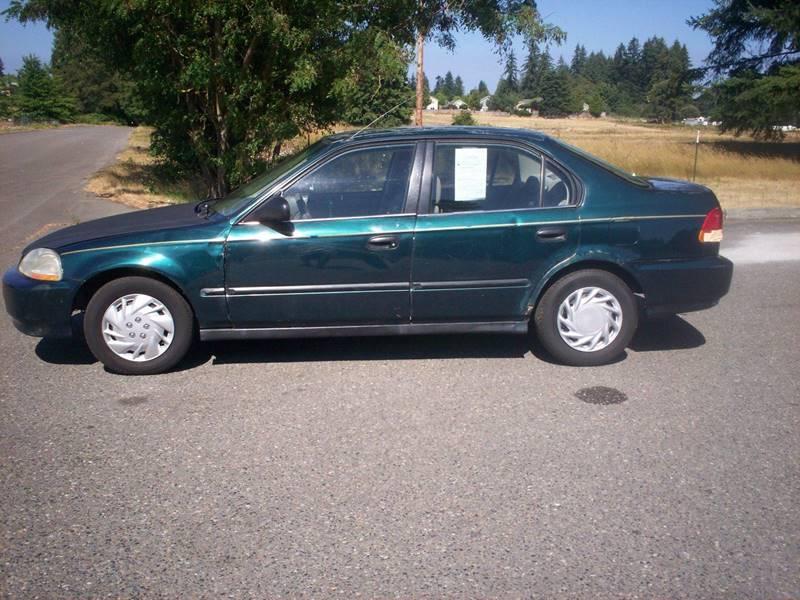 1998 Honda Civic LX 4dr Sedan   Olympia WA