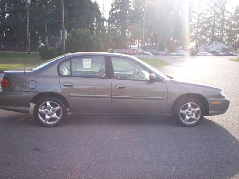 2001 chevrolet malibu 4dr sedan in olympia wa harpers auto sales vehicle options publicscrutiny Image collections