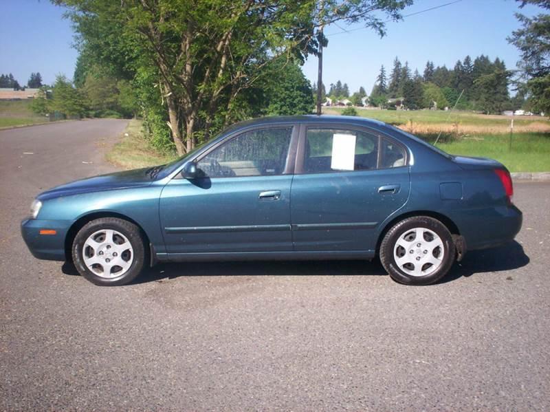 2002 Hyundai Elantra GLS 4dr Sedan   Olympia WA