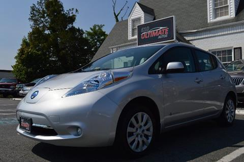 2013 Nissan LEAF for sale in Stafford, VA