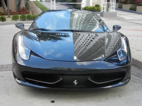 2014 Ferrari 458 Italia for sale in Bentleyville, PA