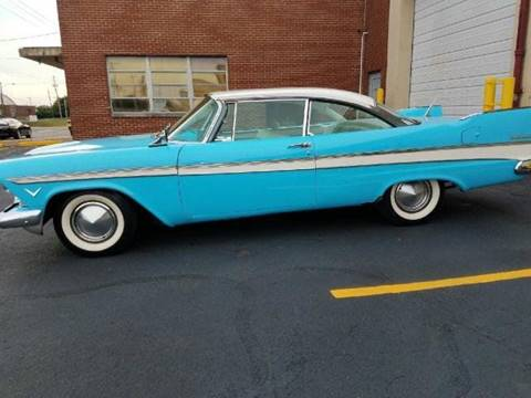 1957 Plymouth Belvedere for sale in Bentleyville, PA