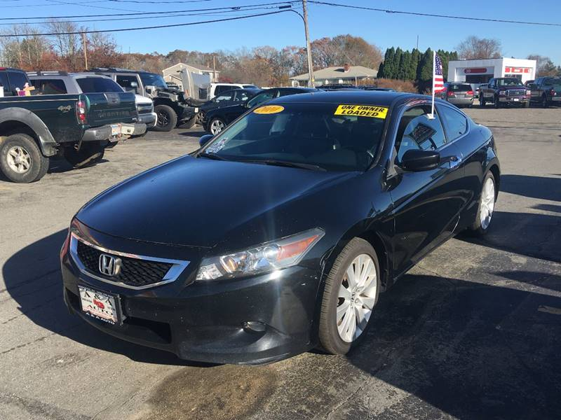 2010 Honda Accord EX L V6 2dr Coupe 5A   Fairhaven MA