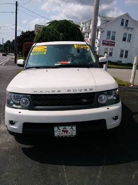 2010 Land Rover Range Rover Sport for sale in Fairhaven, MA