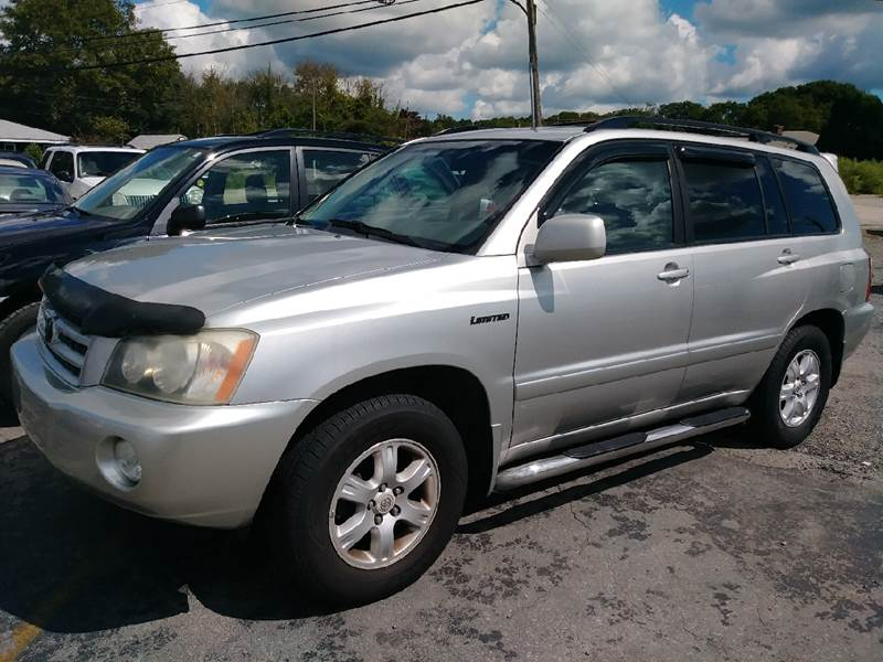 2002 Toyota Highlander AWD Limited 4dr SUV - Fairhaven MA