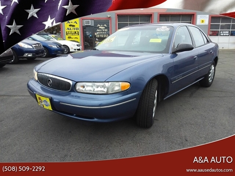 1999 Buick Century for sale at A&A AUTO in Fairhaven MA