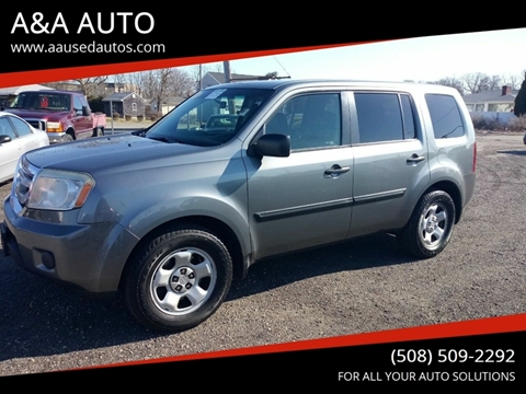 2009 Honda Pilot for sale at A&A AUTO in Fairhaven MA