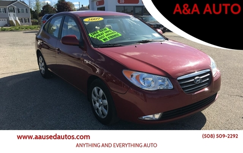 2009 Hyundai Elantra for sale at A&A AUTO in Fairhaven MA