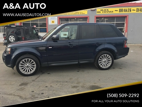 2013 Land Rover Range Rover Sport for sale in Fairhaven, MA