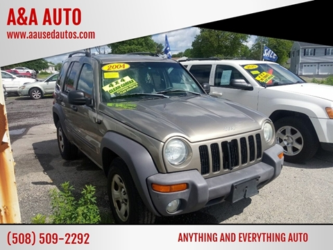 2004 Jeep Liberty for sale at A&A AUTO in Fairhaven MA