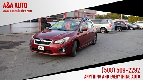 2014 Subaru Impreza for sale at A&A AUTO in Fairhaven MA
