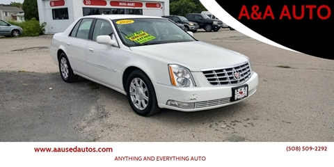 2010 Cadillac DTS for sale at A&A AUTO in Fairhaven MA
