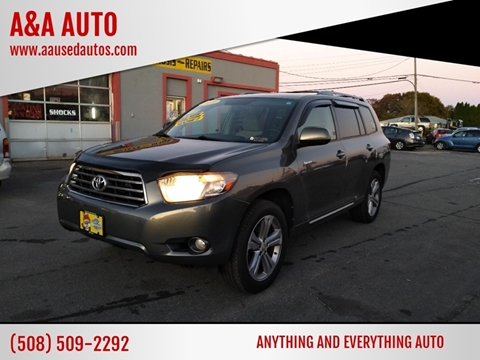 2009 Toyota Highlander for sale in Fairhaven, MA