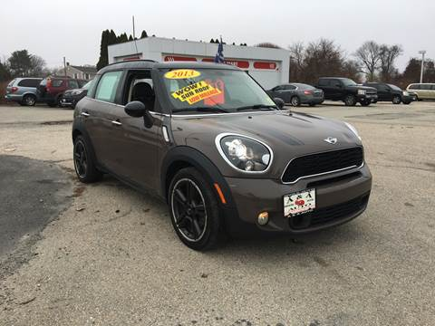 2013 MINI Countryman for sale at A&A AUTO in Fairhaven MA