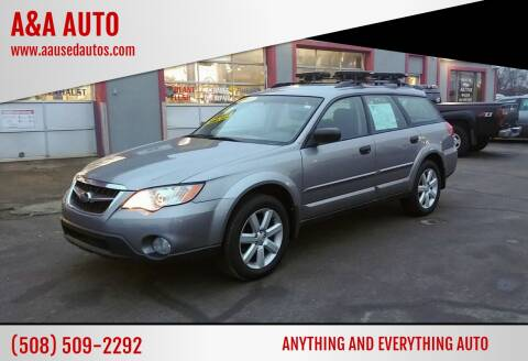 2008 Subaru Outback for sale at A&A AUTO in Fairhaven MA