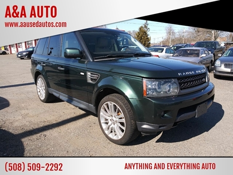2011 Land Rover Range Rover Sport for sale at A&A AUTO in Fairhaven MA