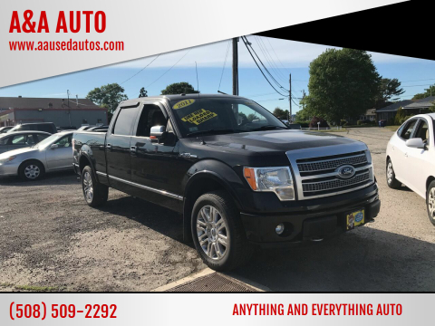 2011 Ford F-150 for sale at A&A AUTO in Fairhaven MA