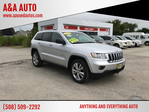 2011 Jeep Grand Cherokee for sale at A&A AUTO in Fairhaven MA