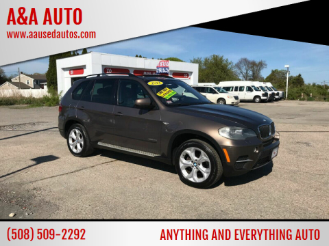 2011 BMW X5 for sale at A&A AUTO in Fairhaven MA