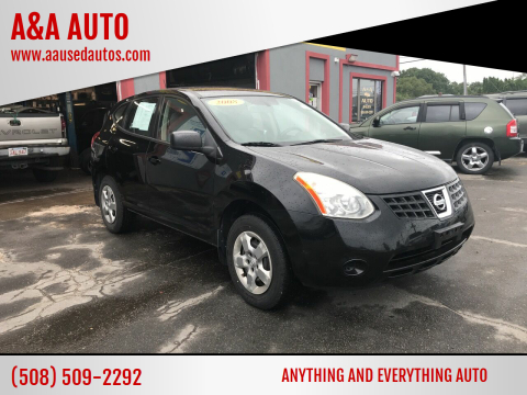 2008 Nissan Rogue for sale at A&A AUTO in Fairhaven MA