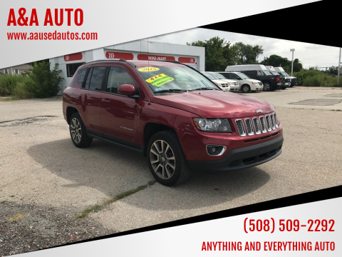 2015 Jeep Compass for sale at A&A AUTO in Fairhaven MA