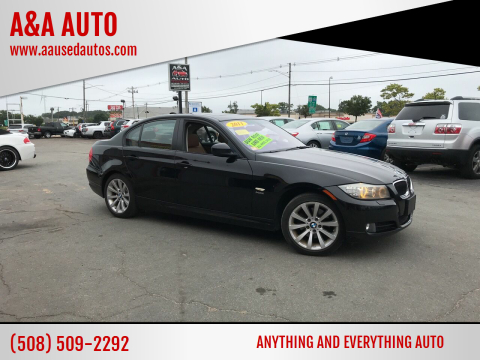 2011 BMW 3 Series for sale at A&A AUTO in Fairhaven MA