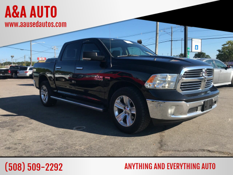 2014 RAM Ram Pickup 1500 for sale at A&A AUTO in Fairhaven MA