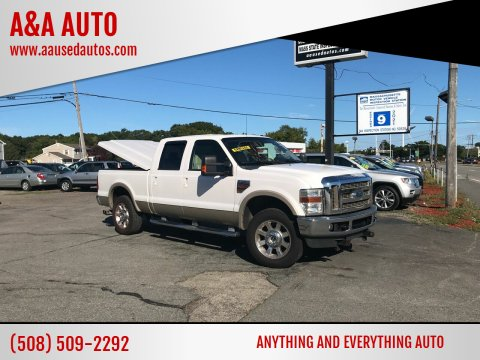 2010 Ford F-250 Super Duty for sale at A&A AUTO in Fairhaven MA