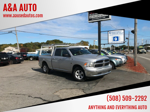 2016 RAM Ram Pickup 1500 for sale at A&A AUTO in Fairhaven MA