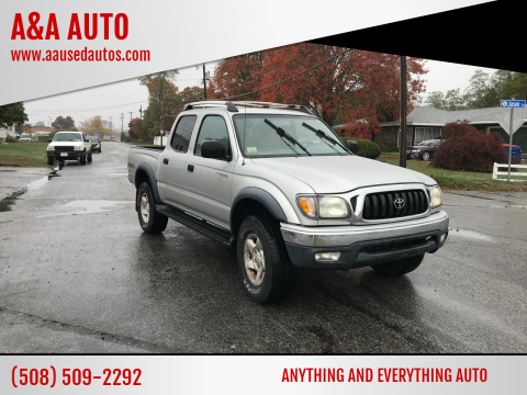 2003 Toyota Tacoma for sale at A&A AUTO in Fairhaven MA