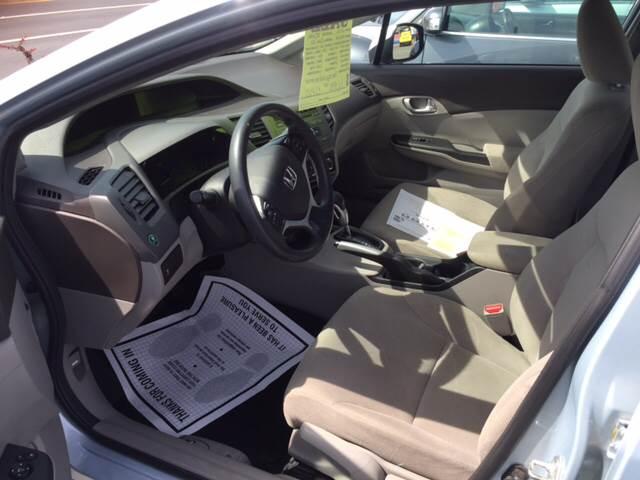 2012 Honda Civic EX 4dr Sedan - Fairhaven MA