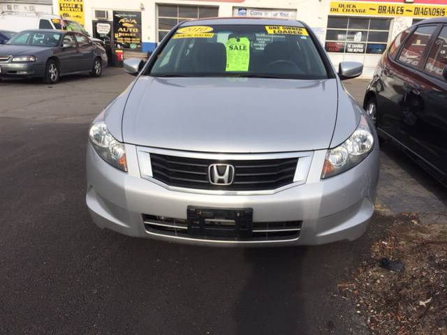 2010 Honda Accord EX-L 4dr Sedan 5A - Fairhaven MA