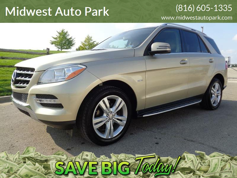 2012 Mercedes Benz M Class AWD ML 350 4MATIC 4dr SUV   Kansas City