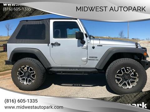 2012 Jeep Wrangler for sale in Kansas City, MO