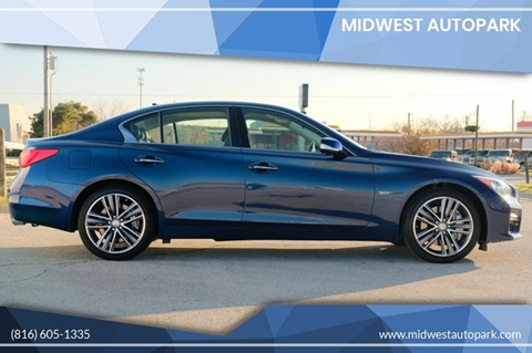2017 Infiniti Q50 for sale at Midwest Autopark in Kansas City MO