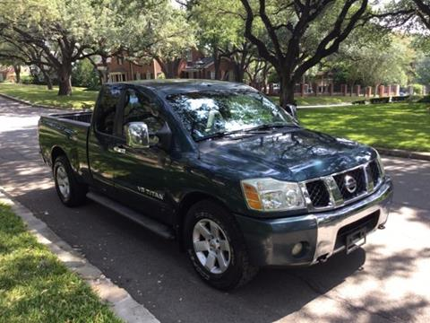 2007 Nissan Titan for sale in San Antonio TX