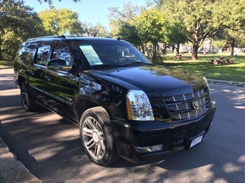 2013 Cadillac Escalade ESV for sale in San Antonio TX