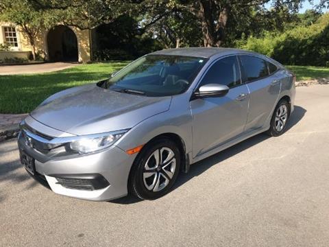 2016 Honda Civic for sale in San Antonio TX