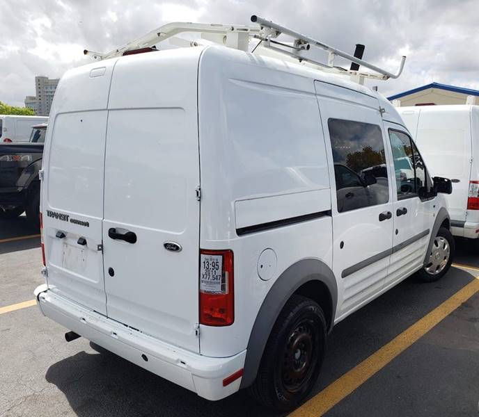 Purchase Used 2011 Ford Transit Connect Xlt Cargo Van With: 2011 Ford Transit Connect XLT 4dr Cargo Mini-Van W/o Side