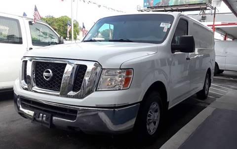 2013 Nissan NV Cargo for sale in Miami, FL