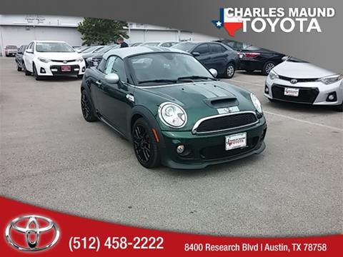 2013 MINI Coupe for sale in Austin, TX
