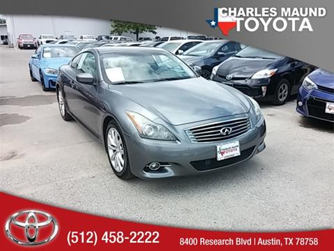 2011 Infiniti G37 Coupe for sale in Austin, TX