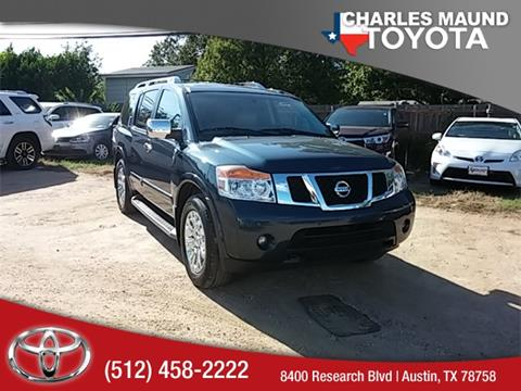 2015 Nissan Armada for sale in Austin, TX