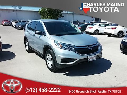 2016 Honda CR-V for sale in Austin, TX