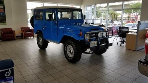 1969 Toyota Land Cruiser for sale in Austin, TX