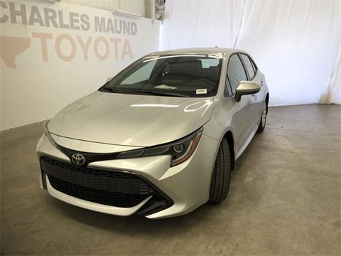 2019 Toyota Corolla Hatchback for sale in Austin, TX