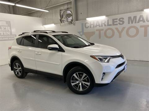2017 Toyota RAV4 XLE for sale at Charles Maund Toyota in Austin TX